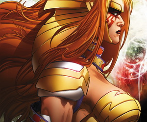 Marvel, angela, and aldrif odinsdottir image