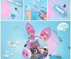 diy, pig, and alcancia image