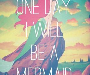 mermaid, disney, and ariel image