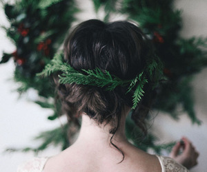 christmas and hairstyle image