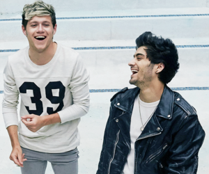 zayn malik, one direction, and niall horan image