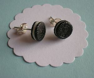 oreo, earrings, and cool image