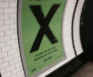 ed sheeran, subway, and x image