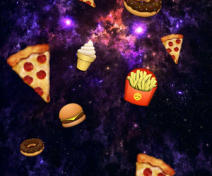 food and galaxy image
