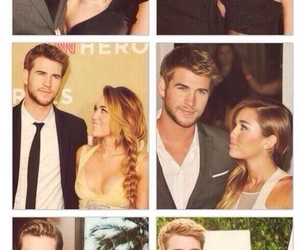 miley cyrus, liam hemsworth, and the look image