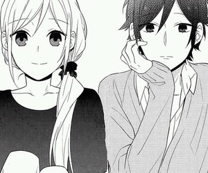 manga, horimiya, and anime image