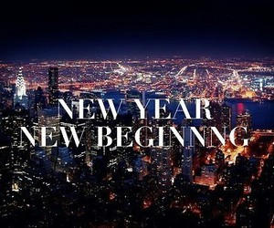 new year, beginning, and city image
