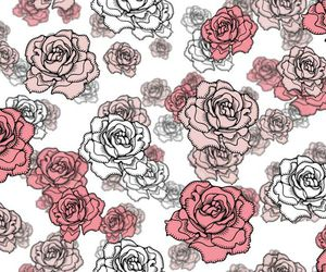 covers, flores, and rosas image