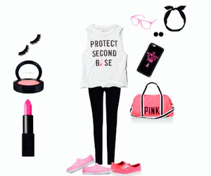 funny, pink, and deporte image