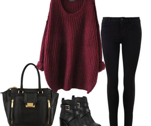 outfit, fashion, and winter image