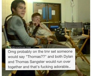 funny, thomas, and thomas brodie sangster image