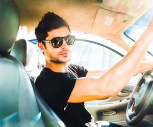 zac efron, Hot, and car image