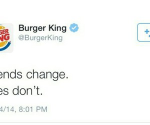 burger king, fries, and funny image
