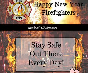 firefighter, firefighting, and firefighters image