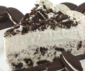 cake, dessert, and oreos image