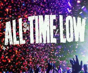 all time low, band, and atl image