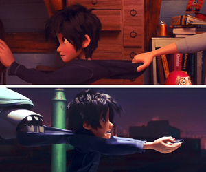 hiro, tadashi, and big hero 6 image