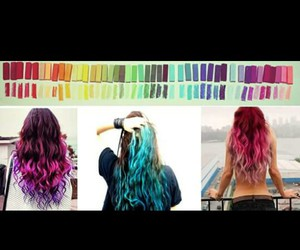 amazing, colorful, and hair dye image