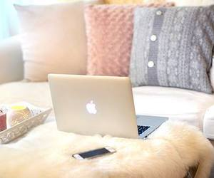 apple, comfortable, and girly image