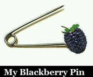 blackberry, pin, and funny image