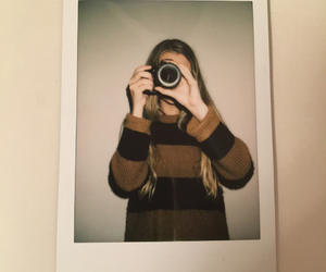 camera, cannon, and instax image