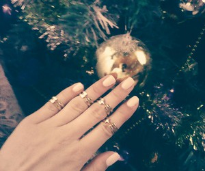 nails, rings, and snow image