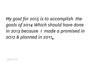 goals, plans, and new image