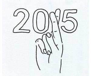 fingers crossed, new year, and yup image