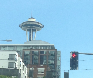 city, happy, and seattle image