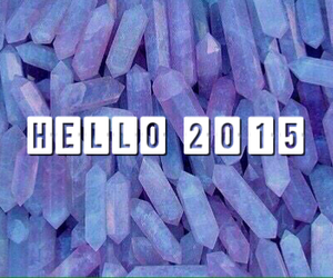 new year and hello 2015 image