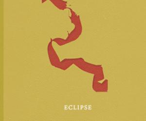 eclipse, the twilight saga, and minimalist poster image