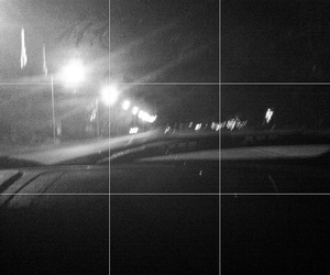 black and white, drive, and grunge image
