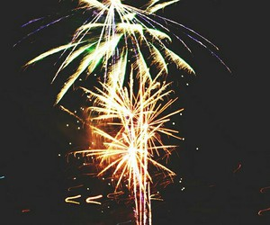 fireworks, new year, and photography image