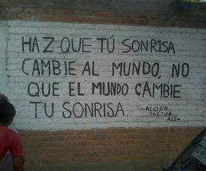 frases, mundo, and mural image