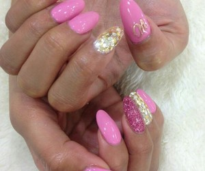 pretty, sweet, and stiletto nails image