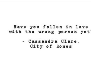 quote, love, and city of bones image
