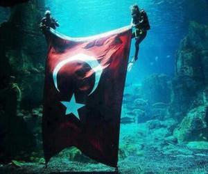 turkey, flag, and sea image
