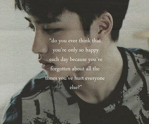 angst, quotes, and regret image