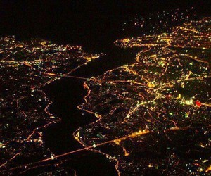 city, istanbul, and light image