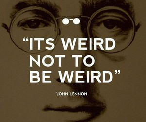 quotes, true, and weird image