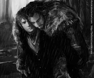 beautiful, fanart, and hobbit image