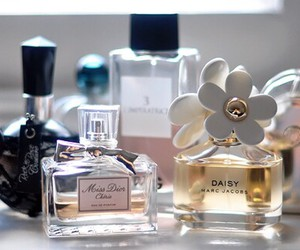perfume, dior, and marc jacobs image
