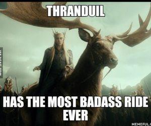 badass, elk, and hobbit image