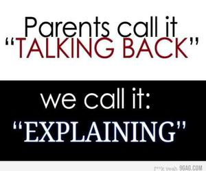 parents and text image