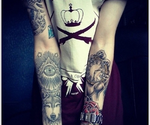 awesome, tat, and cool image