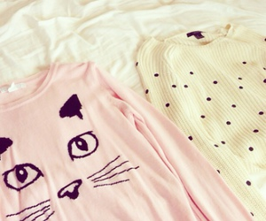 cat, pink, and girly image