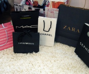 Zara, chanel, and mac image