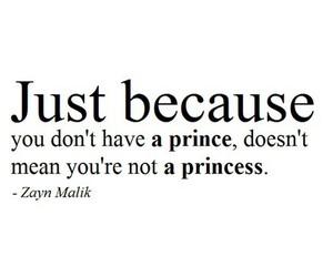 princess, zayn malik, and quote image