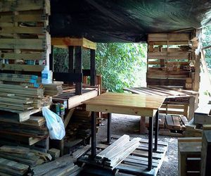 colorado dinner table, pallets dinner table, and pallets dinner table diy image
