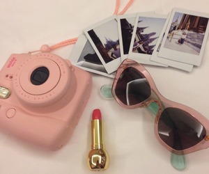 camera, essentials, and fashion image